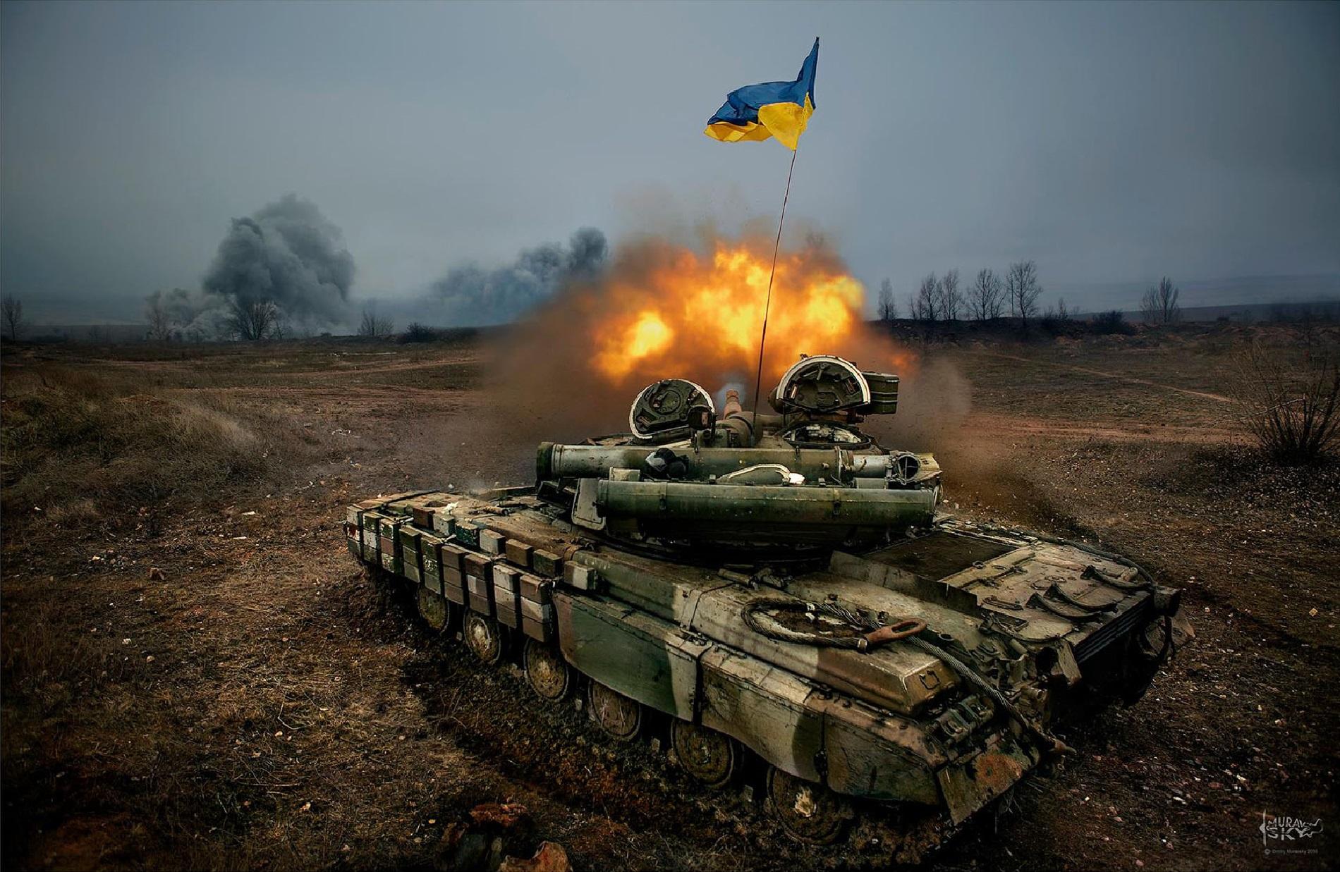 Украинские боевики открыли огонь по населенному пункту Саханка