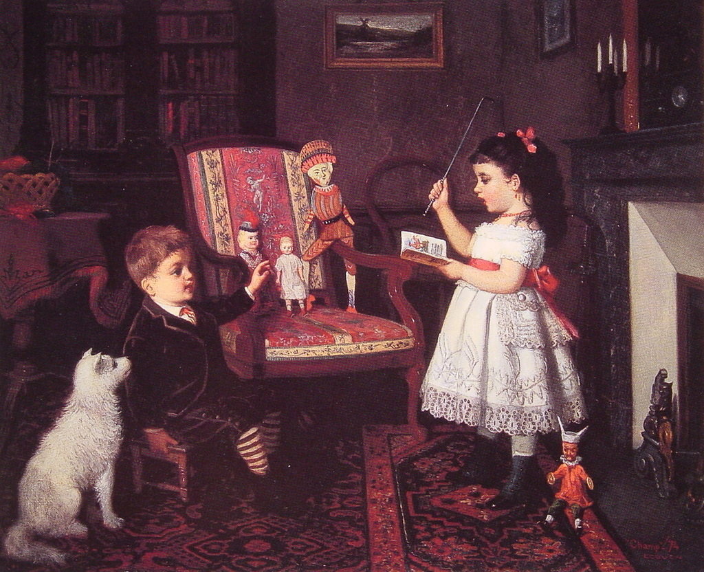 Champney, James Wells → The Lesson