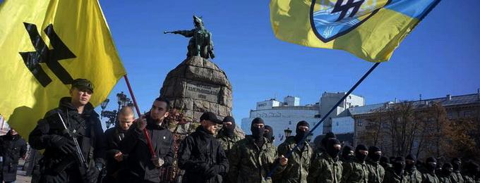 """Евреи записались в неонацистский полк """"Азов"""""""