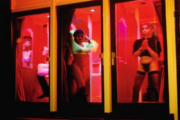 Улица красных фонарей лесбиянки видео