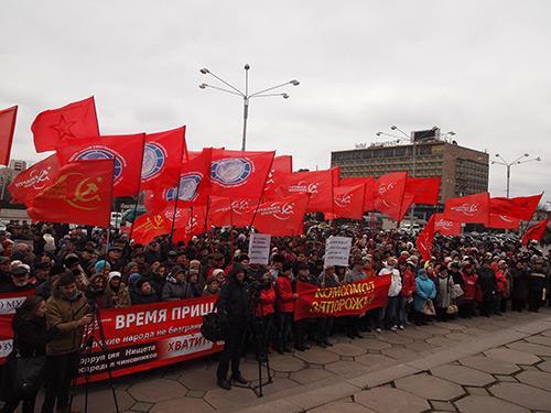 СМИ предпочли не заметить многотысячные демонстрации против евроинтеграции