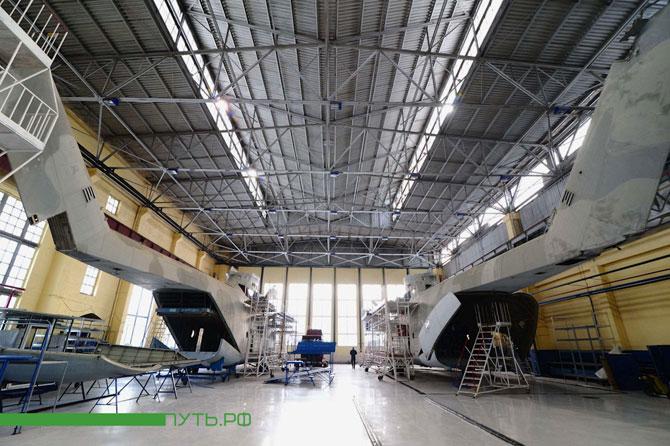 Процесс сборки вертолета в фотографиях