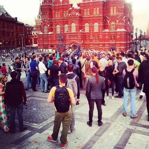 Майдан на Манежной обернулся жутким позором оппозиции