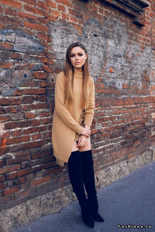 Осень - сезон свитеров