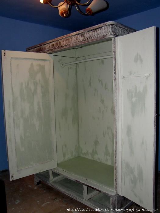 Переделать старый шкаф своими руками 35