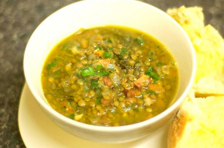 Чечевица суп куриный рецепт с фото пошагово