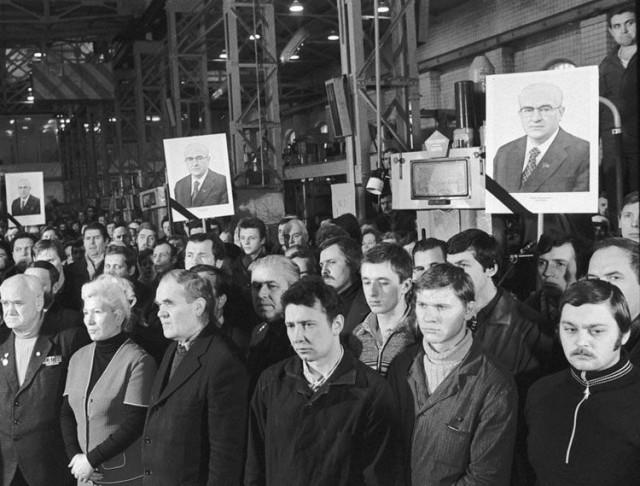 Как провожали в последний путь, советских вождей история, ссср, факты