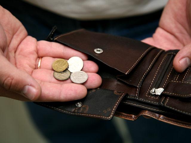 Доходы россиян упали за январь на 52%