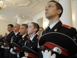Богослужение в Суворовском училище