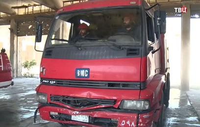 Алеппо: как работают пожарные в 50-градусную жару