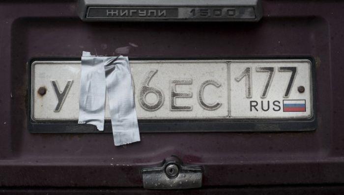 Беспощадный русский креатив: Как в России маскируют автомобильные номера, чтобы не платить за парковку