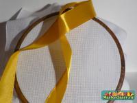 Вышивка лентами для начинающих: От простого к сложному
