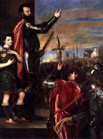 Тициан. Речь маркиза дель Васто