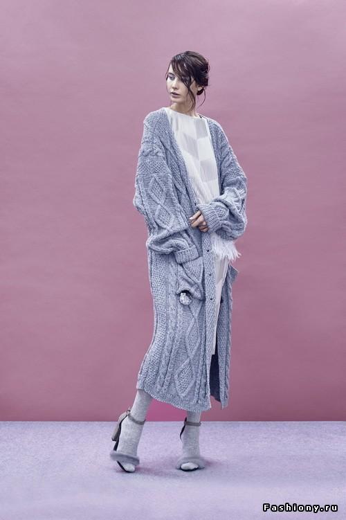 Мода на вязание спицами