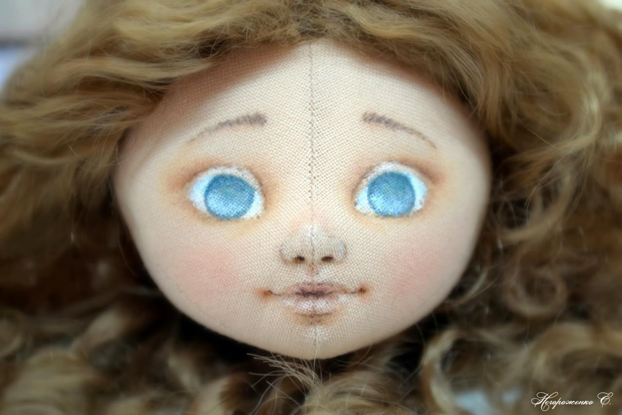 Лицо кукле мастер класс