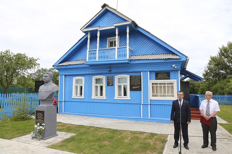 Под Ржевом открылся музей Иосифа Сталина (фото)