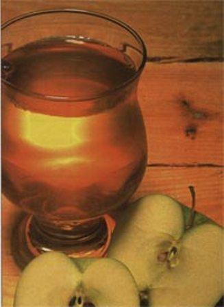Рецепт кваса из яблок