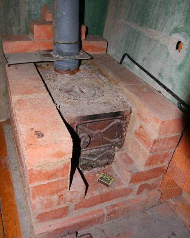 Как установить печь в доме своими руками