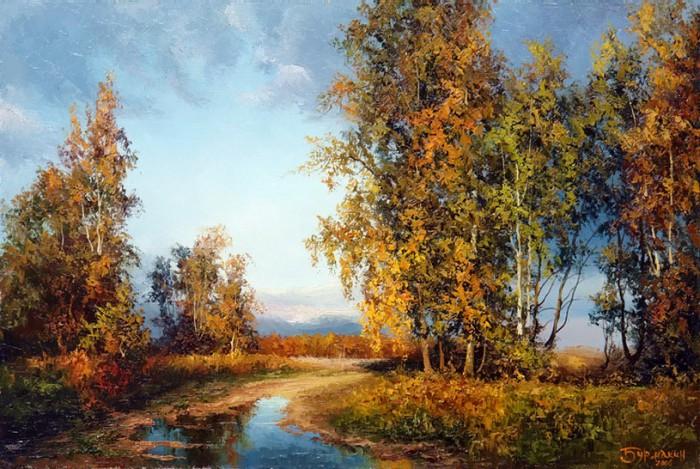 пейзажи Евгений Бурмакин -06