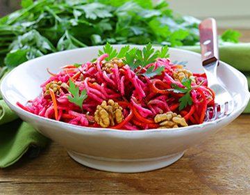 Как приготовить салат «Щетка»: «выметаем» лишние кг и очищаем организм.