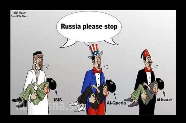 Грани лицемерия: боевики в Сирии жалуются Западу на то, что возрастает угроза их жизням