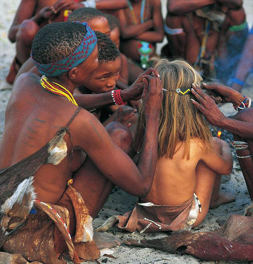 Смотреть африканское аборигенов 4 фотография