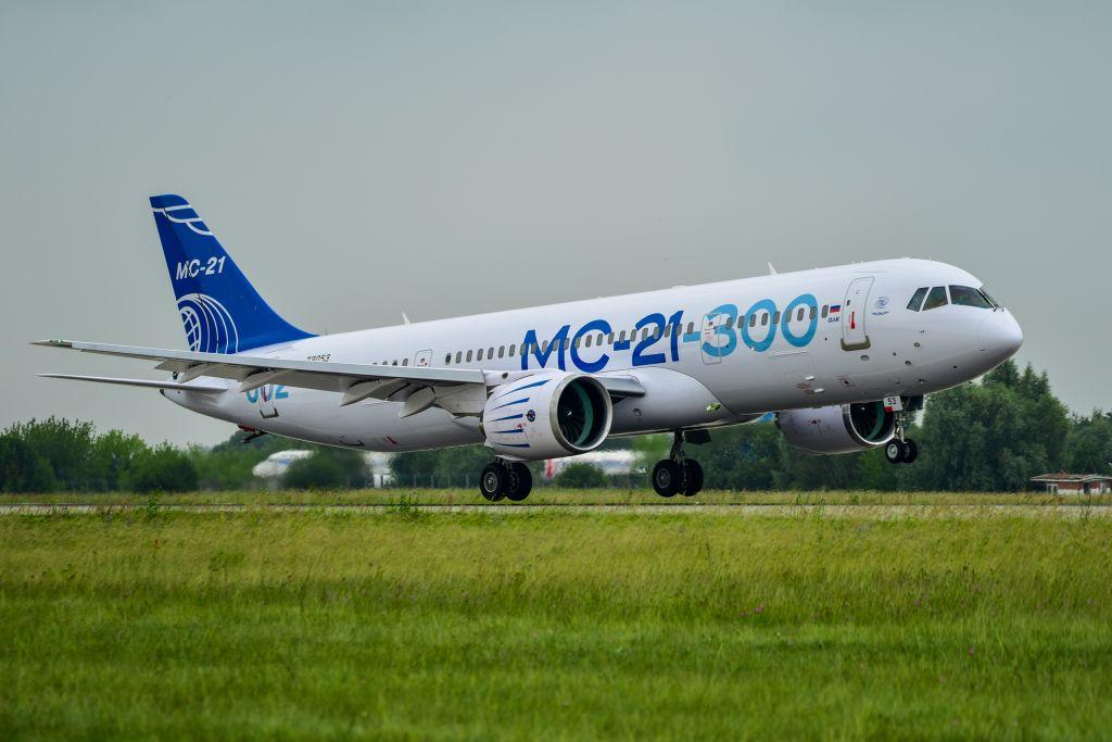 Второй опытный самолет МС-21-300 перелетел для продолжения испытаний в Жуковский