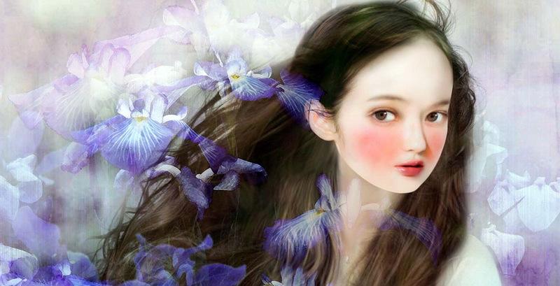 Волшебная живопись Yokota Miharu