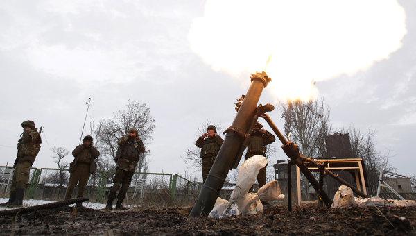 Украинские военные обстрелял…