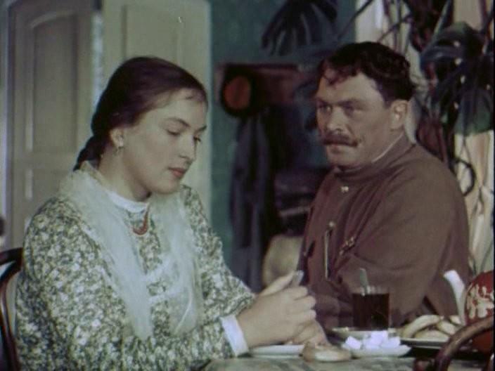 «Кубанские казаки» Клара Лучко, СССР, Сергей Лукьянов, советские актеры, фото