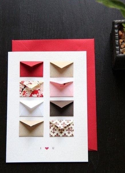 Делаем открытку с пожеланиями и признаниями