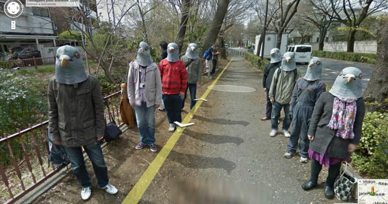 10 самых странных снимков на Google Street View
