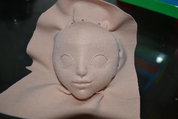 Голова куклы мастер класс