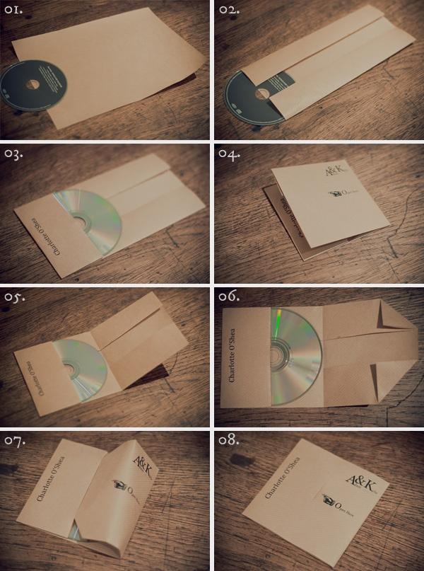 Коробочка для диска своими руками фото