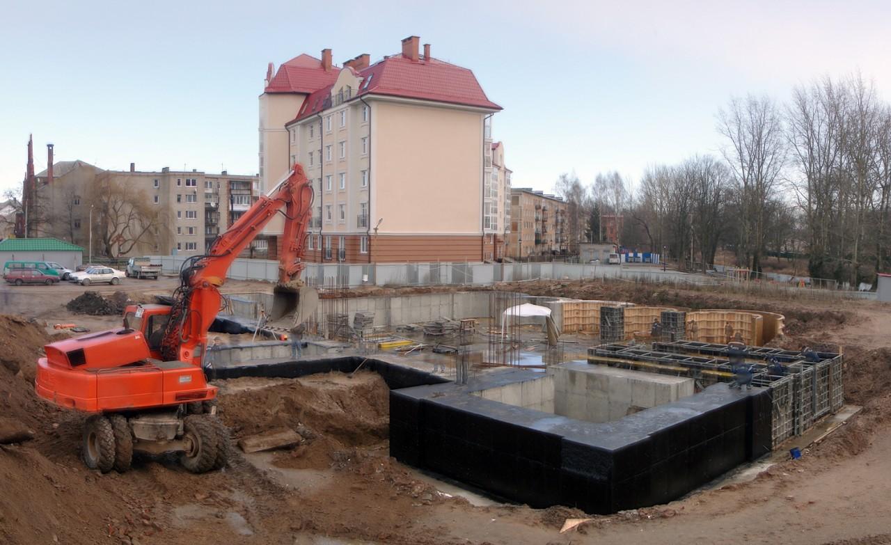 Храм в г. Гусеве строится