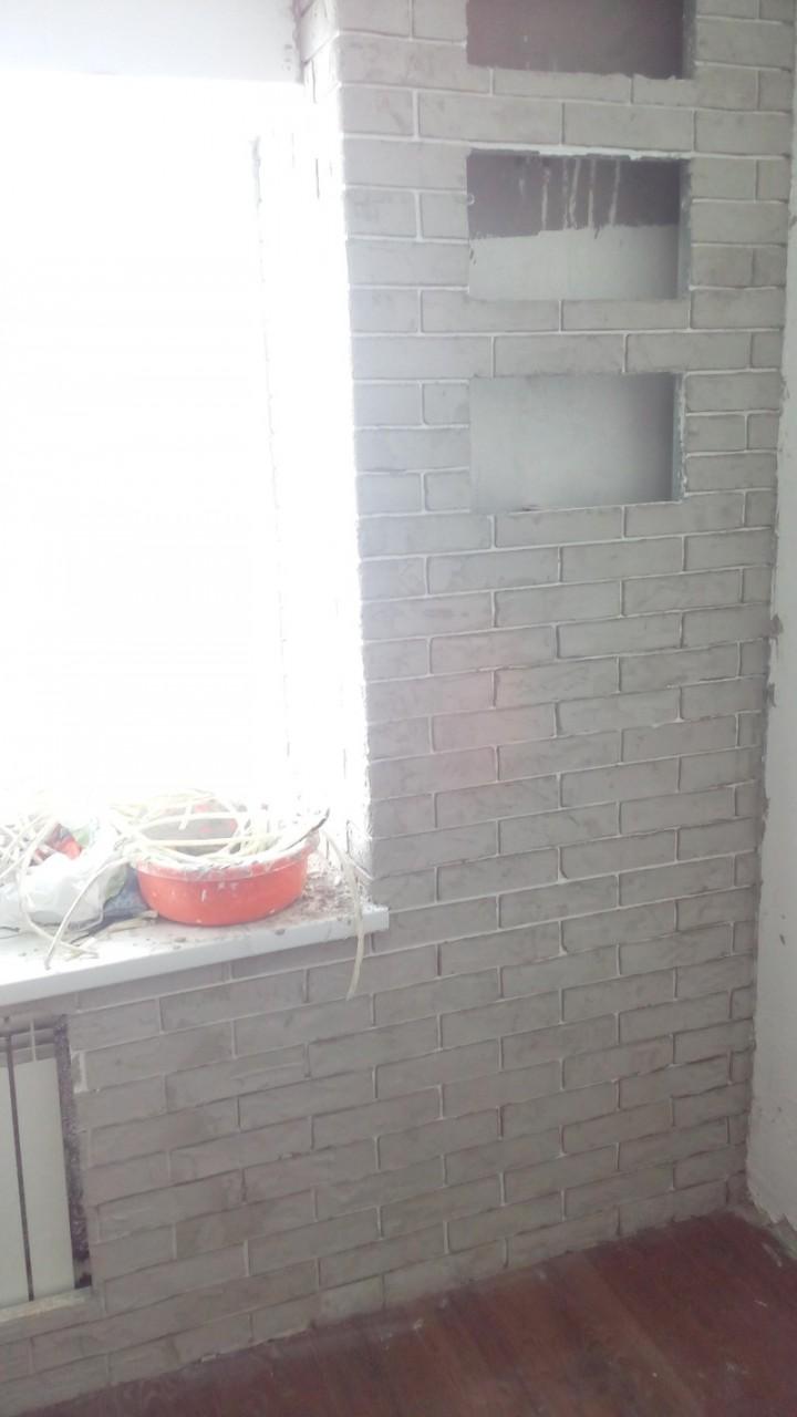Кирпичная стена 10