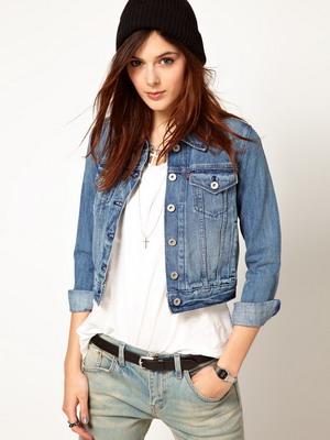 Короткие Джинсовые Куртки