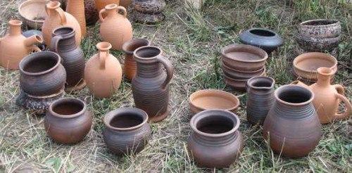 Как изготовить глиняную посуду?