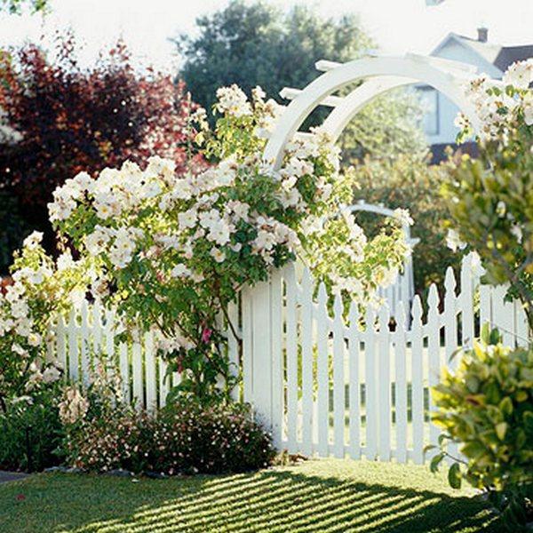 Калитка садовая своими руками