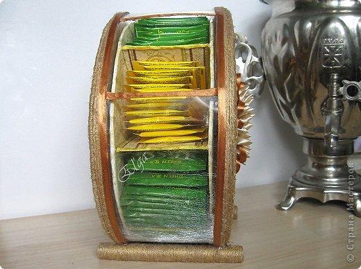 Мастер-класс Моделирование конструирование Чайное колесо Картон Клей Салфетки фото 2