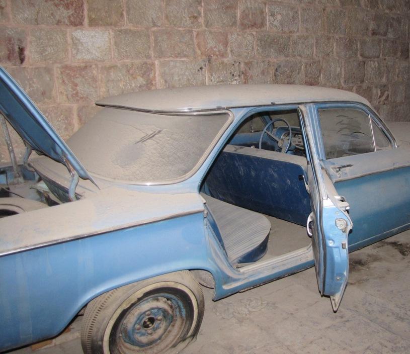 История забытого гаража. 42 года забвения