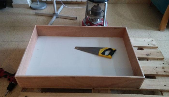 Реконструкция ящика