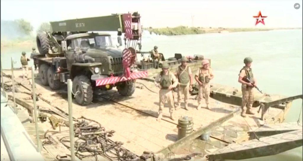 Наведение моста через Евфрат