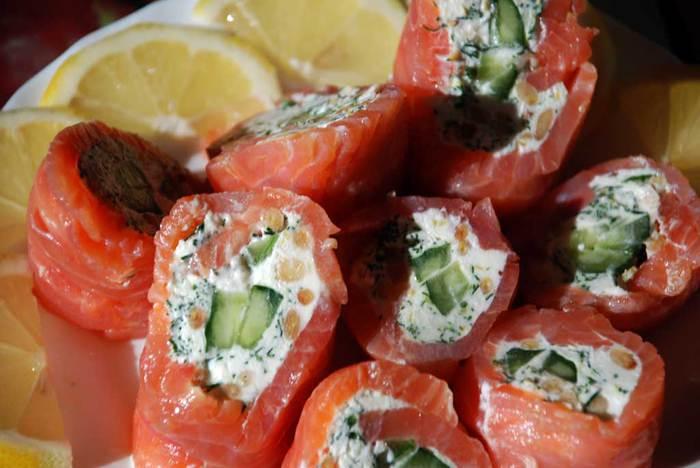 Вкусняшки для любителей рыбки