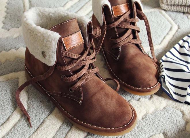 Подбираем стильные зимние ботинки