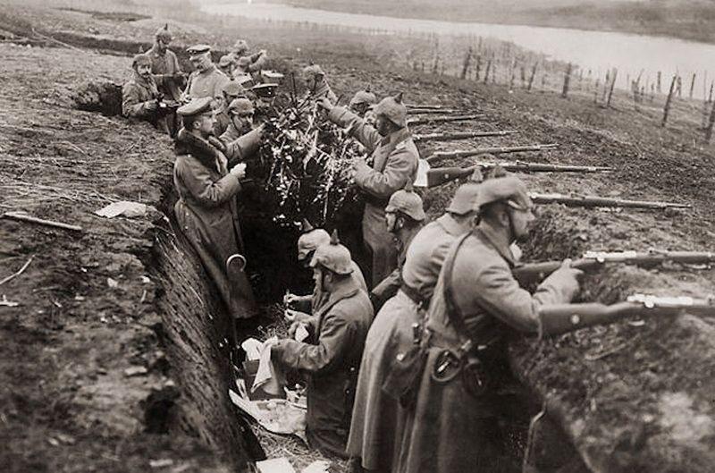 Рождество в окопах Первой Мировой
