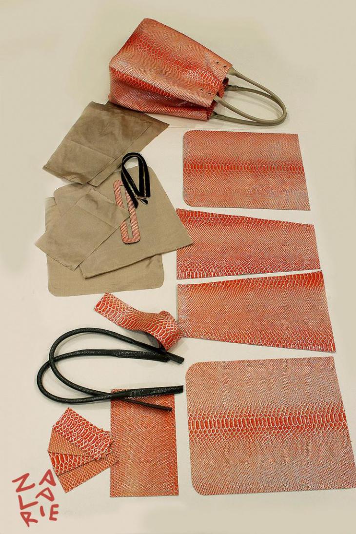 Как сшить сумку-шоппер с двойной магнитной застежкой