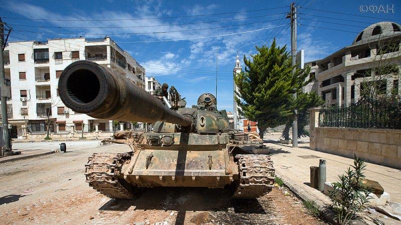 Сирия: «Тигры» расчищают Але…