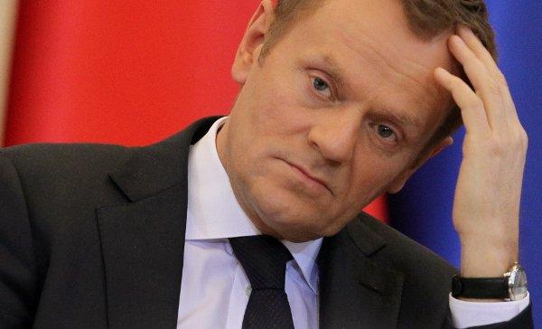 Туск: ЕС никогда не признает присоединение Крыма к России