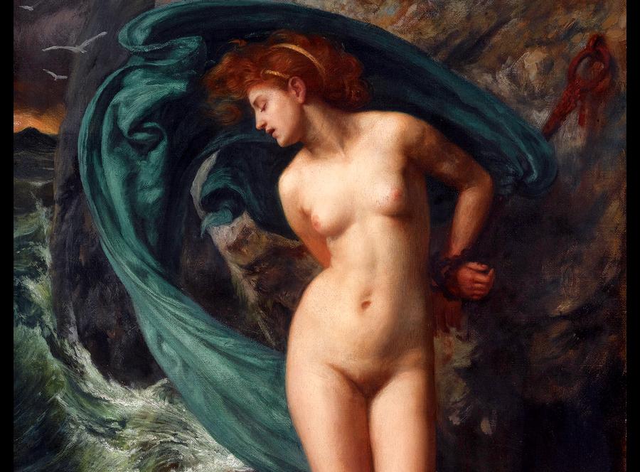 Кто такая Андромеда и почему её изображают голой